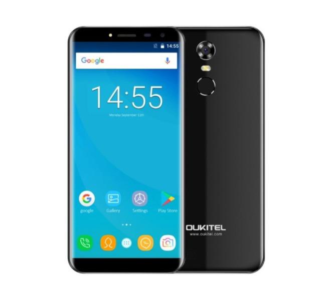 "Телефон Oukitel C8 5.5"" безрамочный"