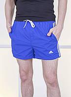 """Короткие мужские шорты на резинке """"ADDS"""" с карманами"""