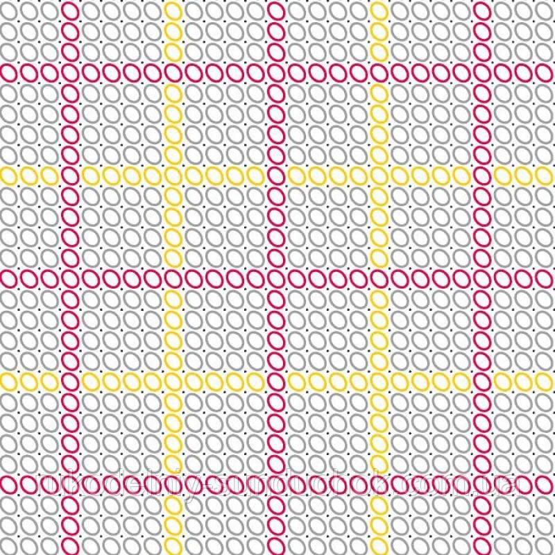 "Водорастворимый флизелин с рисунком ""Confetti"" (K160 Сетка Аида16)"