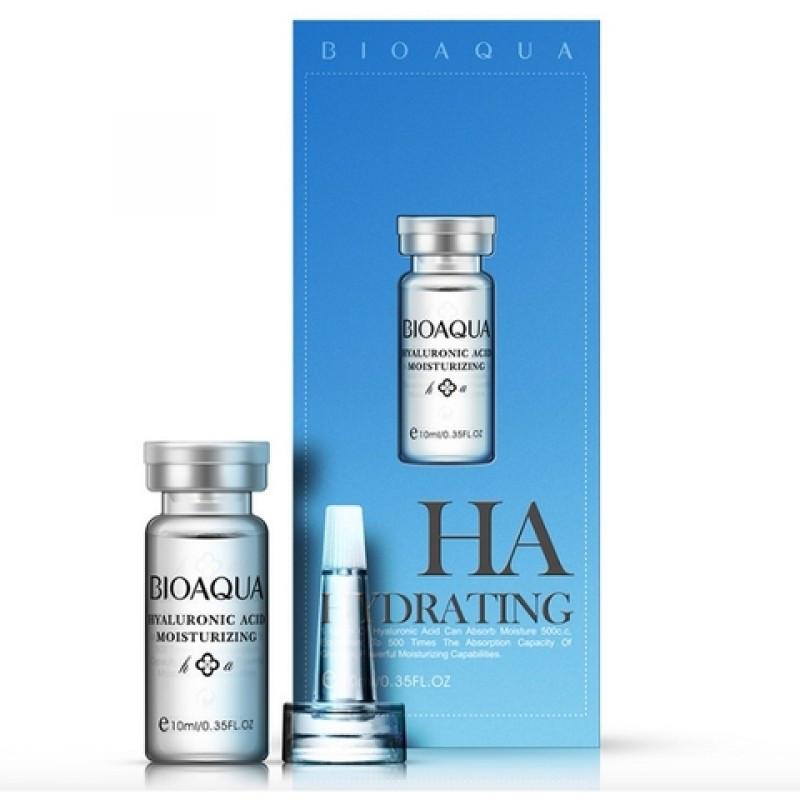 Гиалуроновая кислота Bioaqua HA hydrating 100% Hyaluronic Acid. 10 мл