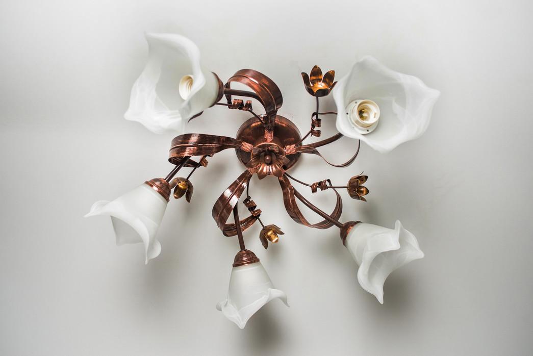 Люстра потолочная флористика 4506 Дана