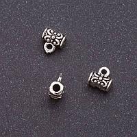 Фурнитура бейл b-7мм d-2мм L-7мм серый металл фас.20гр. +-44шт.