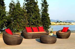 Мебель из лозы ротанга и абаки