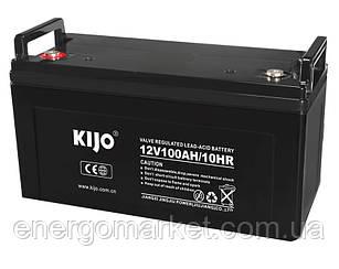 Аккумулятор гелевый Kijo JDG 100 Ач 12В GEL