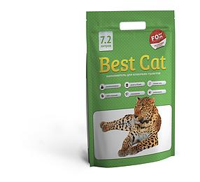 """Силикагелевый наполнитель """"Best Cat""""  Green Apple 7,2л"""