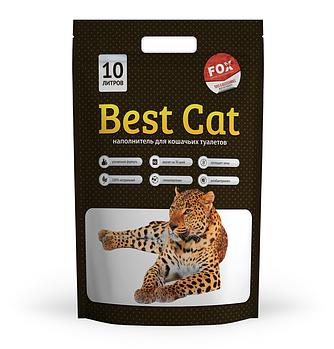Cиликагелевый наполнитель БЭСТ КЭТ (Best Cat) White для кошачьего туалета без запаха, 10 л