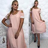 Модное,ярое женское платье -новинка сезона в размерах 50-56, фото 4