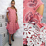Модное,ярое женское платье -новинка сезона в размерах 50-56, фото 6