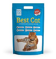 """Силикагелевый наполнитель """"Best Cat""""  Blue Mint 7,2л"""