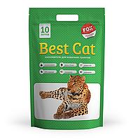 """Силикагелевый наполнитель """"Best Cat""""  Green Apple 10 л"""