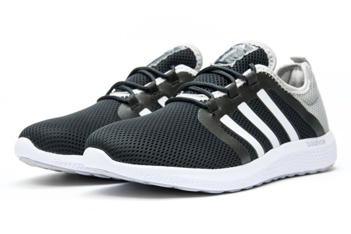 058d934c Кроссовки мужские Adidas Bounce, серые (12411) размеры в наличии ▻ [ 42 44