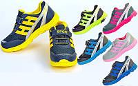 Кроссовки подростковые Sport 4106, 6 цветов: размер 31-36