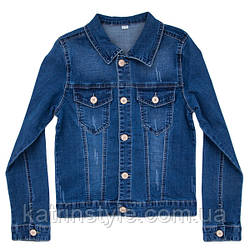 Пиджак джинсовый для мальчика
