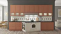 Новая! Кухня АНКОНА-2 (RODA): актуальный фасад МДФ - узкая рамка с ламинацией ПХВ