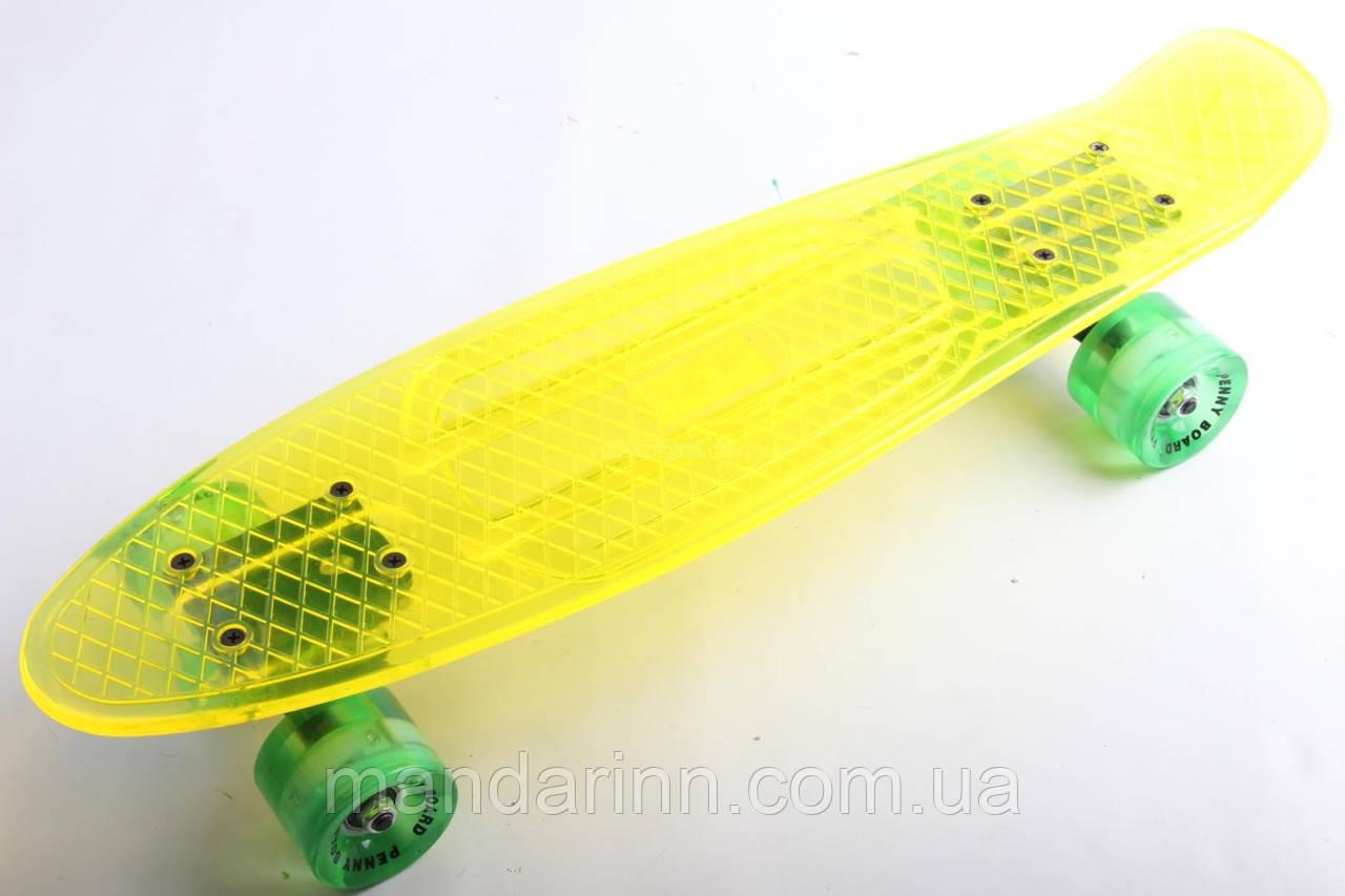 Penny Board, Пенні Sunset California Yellow Cristal 22