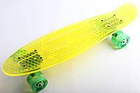 Penny Board, Пенні Sunset California Yellow Cristal 22, фото 1