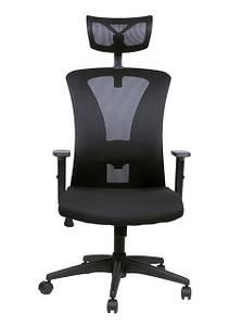 Офисное кресло Mesh BM - 02 черное Barsky