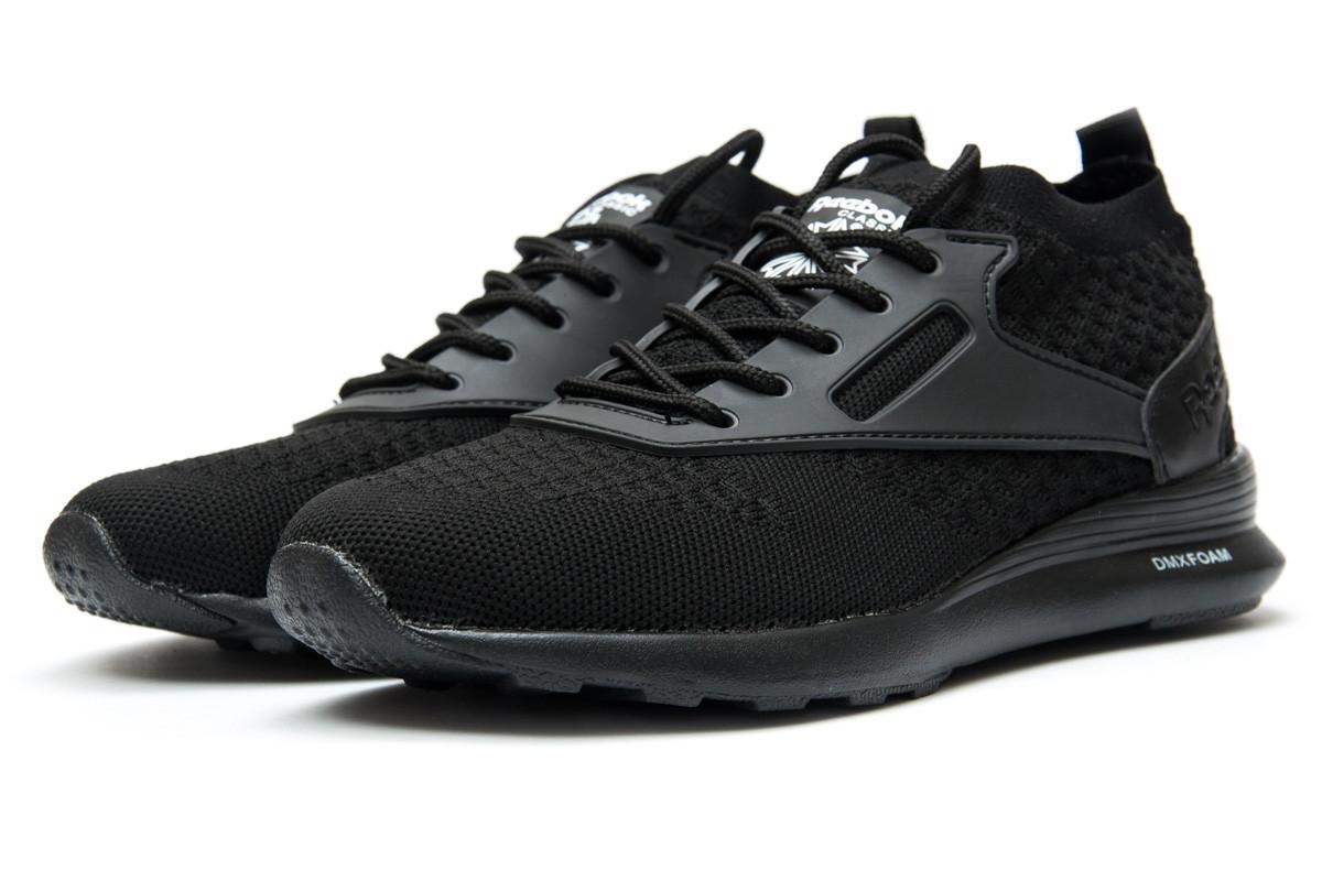 Кроссовки женские Reebok Zoku Runner, черные 12464  продажа, цена в ... d613ad204e9