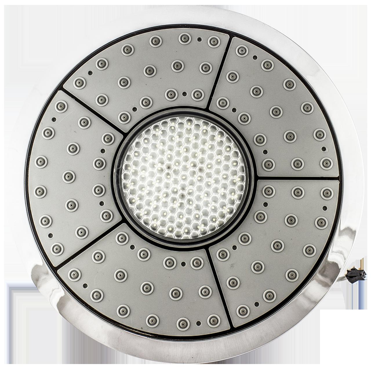 Лейка для душевой кабины, с подсветкой диаметром 235 мм. c подсветкой ( Л-235 ПН )