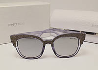 Женские солнцезащитные очки Jimmy Choo 17182 (сиреневый перламутр), фото 1