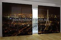Панорамная фотоштора Ночной Париж