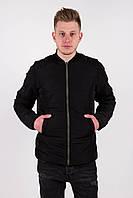 Мужская весенняя куртка Dark Side черная, фото 1