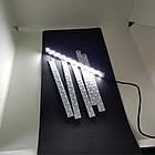 Светодиодная лента 20 см с micro USB для лайтбокса. Подсветка для фотобокса, фото 7