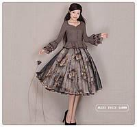 Ретро платье с пышной юбкой