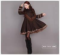 Винтажное платье с этническим колоритом 2 цвета