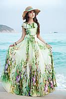 Длинное платье- сарафан