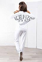 """Женский трикотажный спортивный костюм """"KENZO"""" с рукавом летучая мышь, фото 2"""