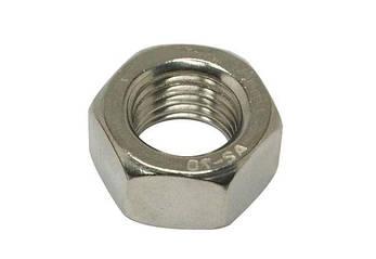 Гайка М6 шестигранная ГОСТ 5915-70, DIN 934 из нержавеющей стали А2, фото 2