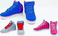 Кроссовки высокие кожаные Circa 3134 (обувь спортивная): размер 36-41, 3 цвета