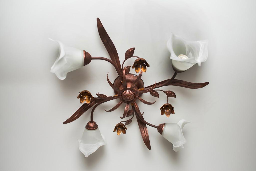Люстра потолочная флористика Мария 5204