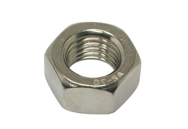 Гайка М7 шестигранная ГОСТ 5915-70, DIN 934 из нержавеющей стали А2