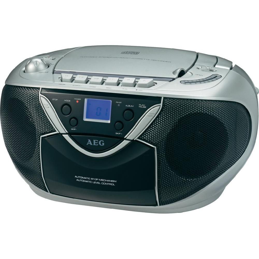 Магнитола  AEG 4326 CD MP3  Кассета РАСПРОДАЖА !!!
