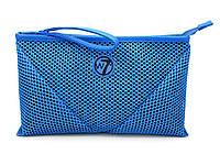 Косметичка W7 Large Mesh Bag большая сетка  - Blue