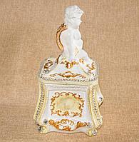 Шкатулка Ангелочек (золото)