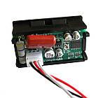 Вольтметр переменного тока цифровой 0-600В DC Красный в корпусе, фото 2
