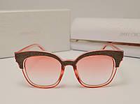 Женские солнцезащитные очки Jimmy Choo 17182 (розовый цвет), фото 1