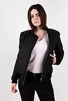 Женская весенняя куртка/парка @Dark Side черная