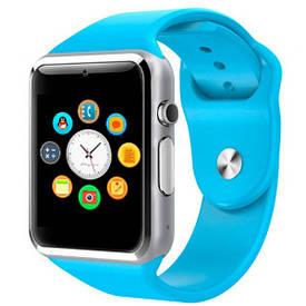 UWatch Умные часы Smart A1 Turbo Blue