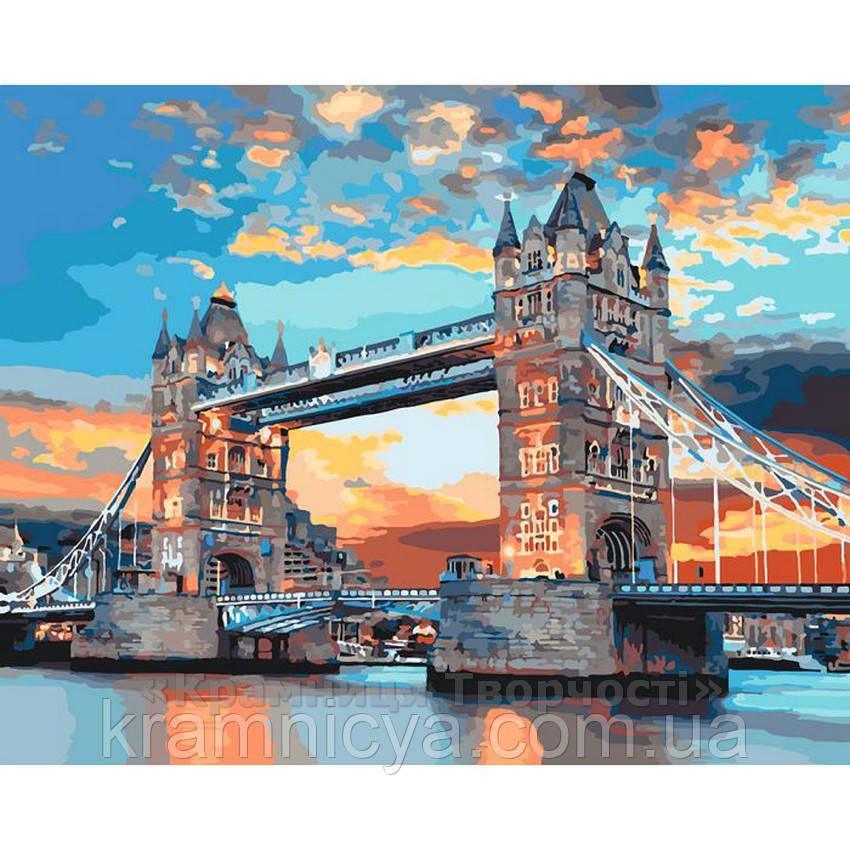 Картина по номерам Лондонский мост, 40х50 (КНО3515)