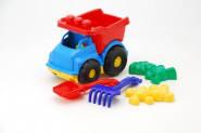 """Машина """"Тотошка"""" самосвал №2 машинка, лопатка и грабельки (ЛГ4), две бол. пасочки (П4)"""