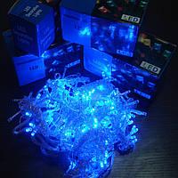 Гирлянда Штора Led 360 голубая