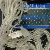 Гирлянда Сетка Led 360 голубая, фото 1