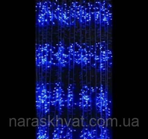 Гирлянда Водопад Led 240 голубая
