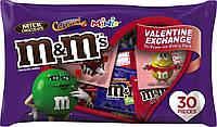M&M's valentine exchange