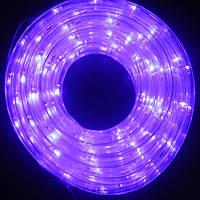 Шланг Дюралайт 10 м 2-х жильный фиолет, фото 1