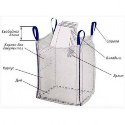 Биг бэг, мягкий контейнер big bag, фото 2